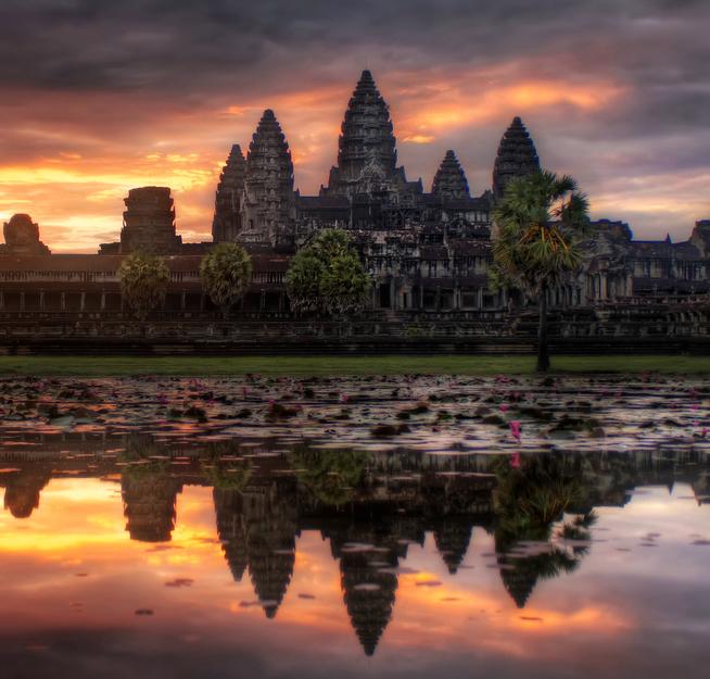 Los templos de Angkor Wat