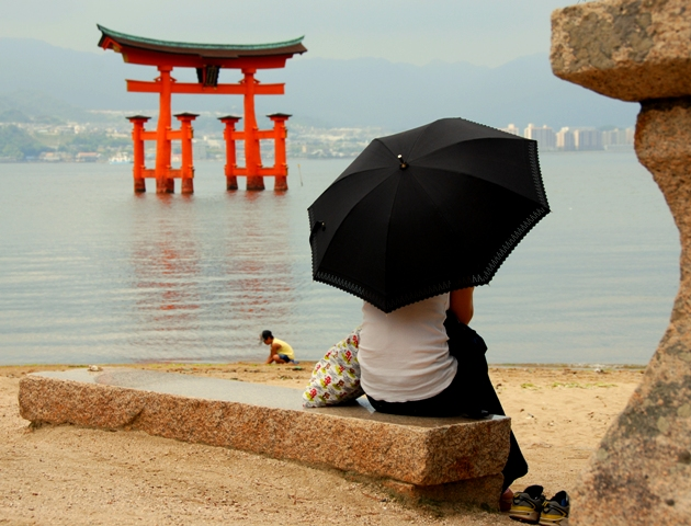 El torii de Miyajima