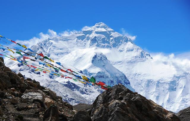 La diosa madre del univero. El Everest