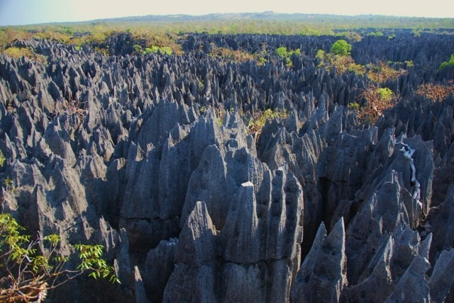La extensión de los Tsingy