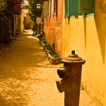 Las callés de Gorée