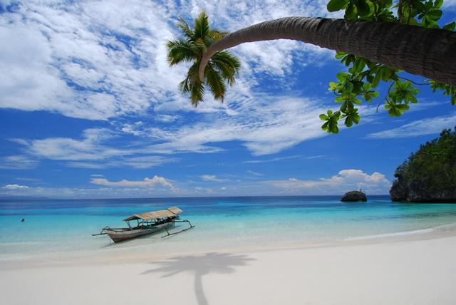 La paradisíaca playa de Kadidiri