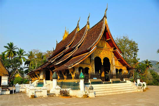 Templo de Luang Prabang