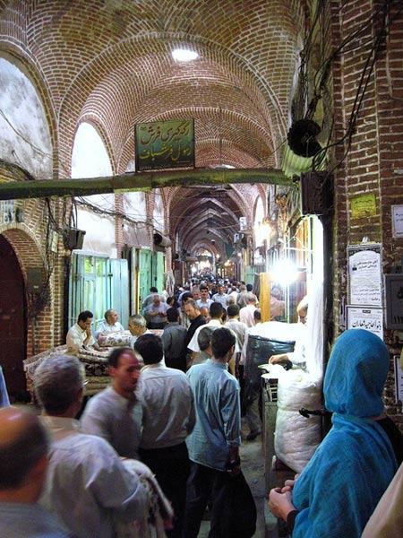Escena del bazar