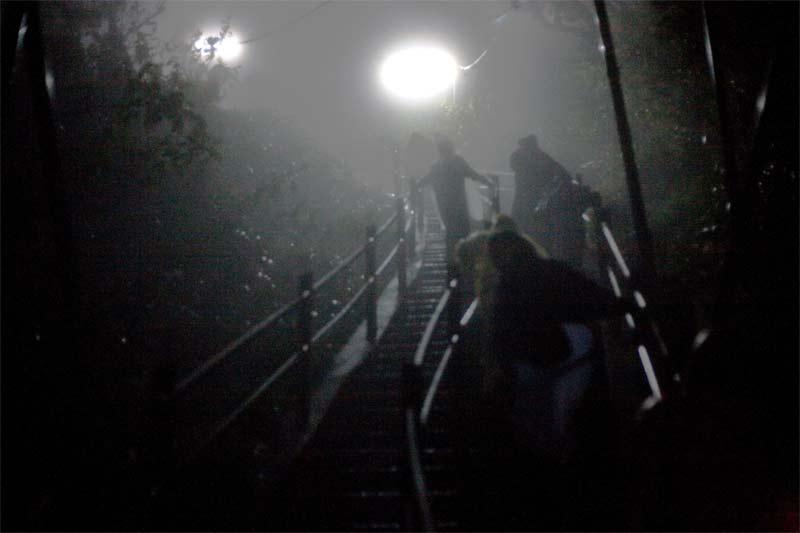 Ascensión nocturna al Pico de Adan