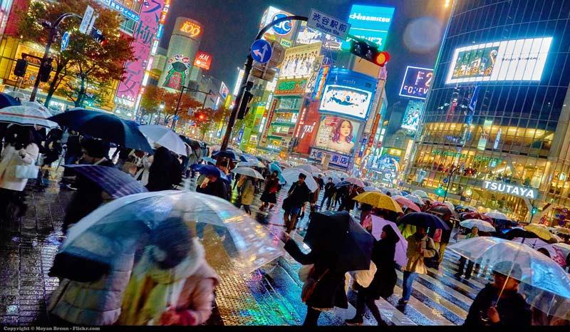 Atardece en Tokio