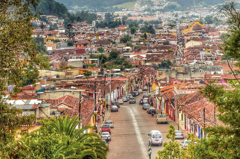 Vista de San Cristóbal de Las Casas