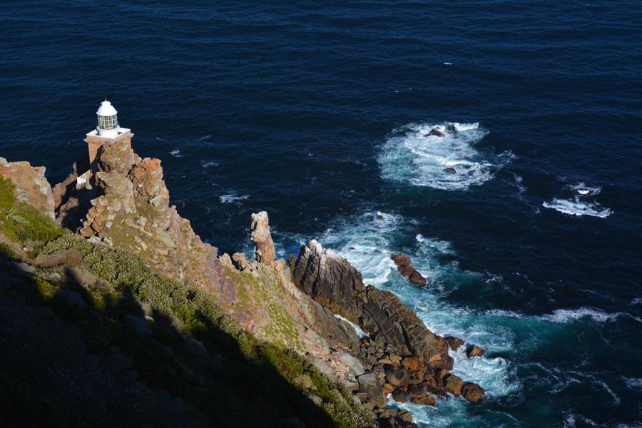 El faro en el Cabo de Buenaesperanza