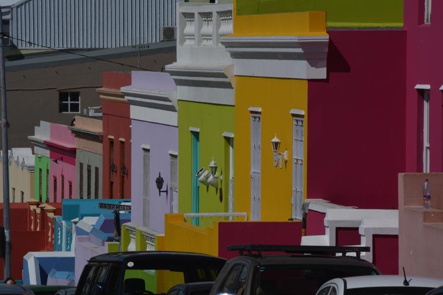 Casas del barrio de Bo-Kaap