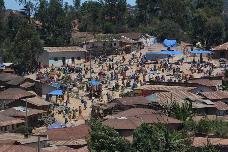 Mercado en las Usumbaras