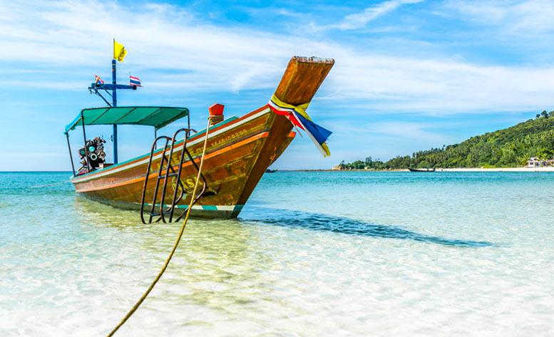 Las playas de Tailandia son espectaculares
