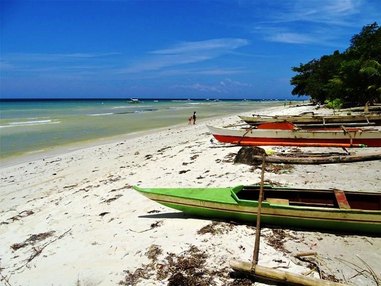 White beach en Palang