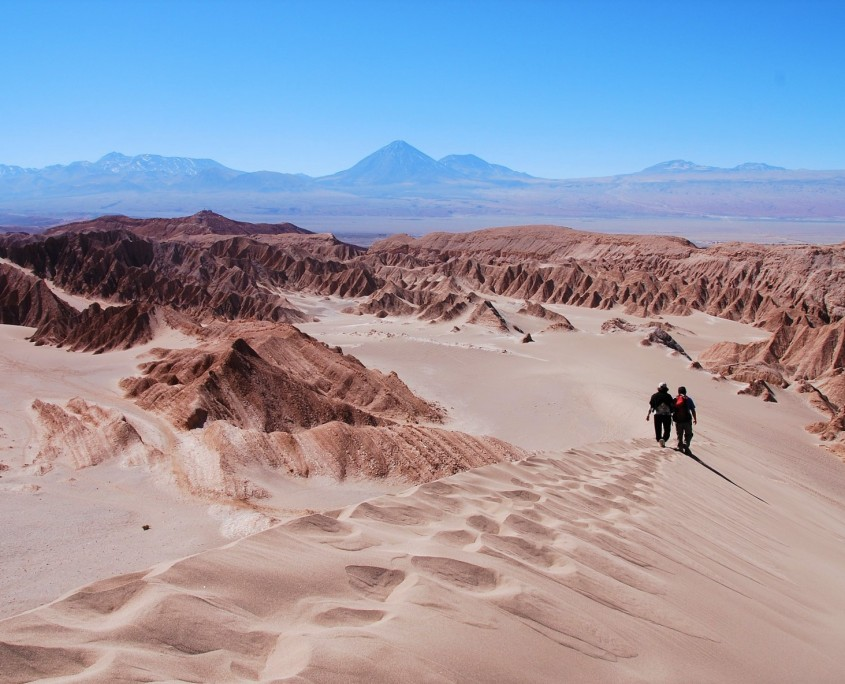 El paisaje desértico de Atacama
