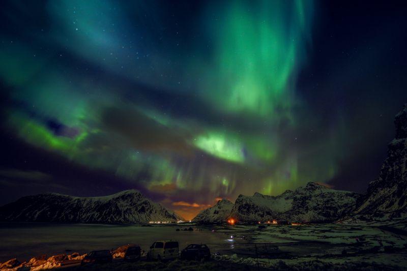 Foto de Ruta por Auroras Boreales asombrosas auroras boreales