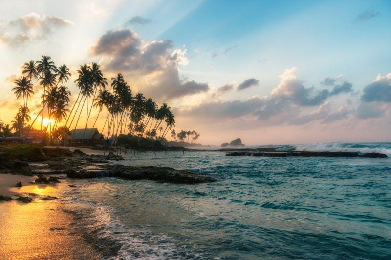 Foto de Ruta por Dos paraísos en uno deslumbrante atardecer