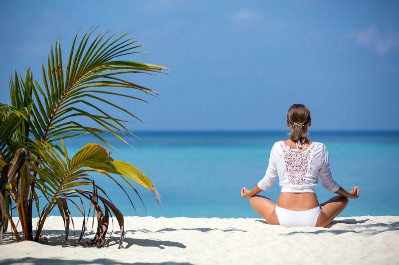 Foto de Ruta por Dos paraísos en uno sesion yoga