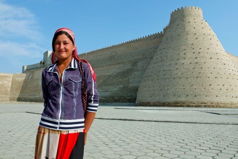 Foto de Ruta por El alma de la Ruta de la Seda mujer uzbeka