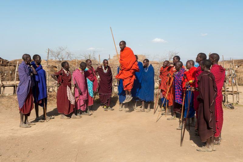 Foto de Ruta por El corazón de Africa Salto Masai