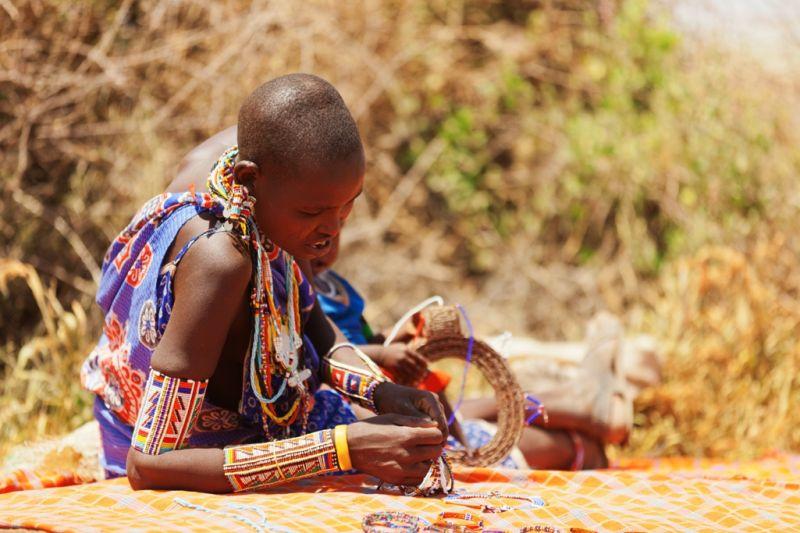 Foto de Ruta por El lado salvaje de África artesania