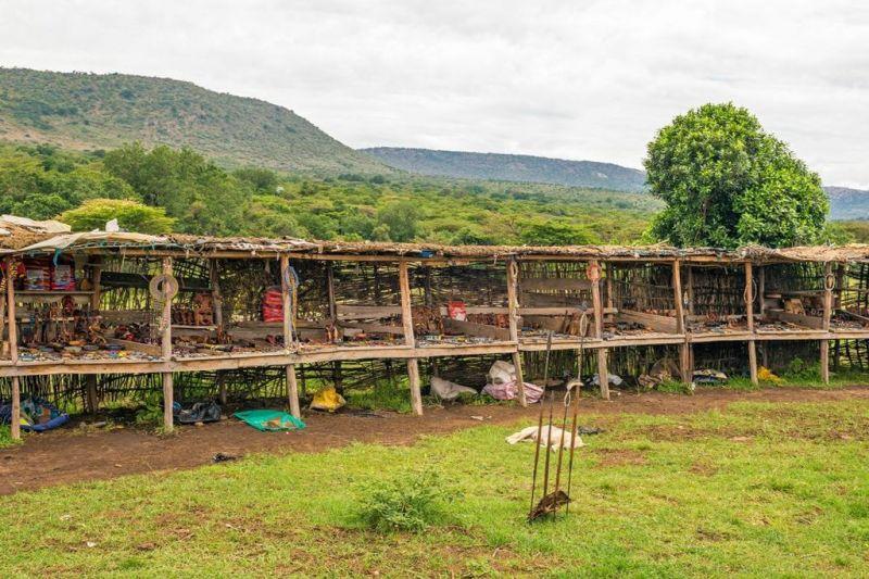 Foto de Ruta por El lado salvaje de África construcciones tipicas