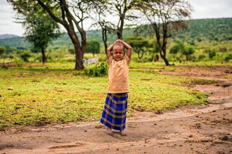 Foto de Ruta por El lado salvaje de África niño africano