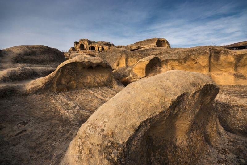 Foto de Ruta por El rincón del Cáucaso Formaciones geologicas