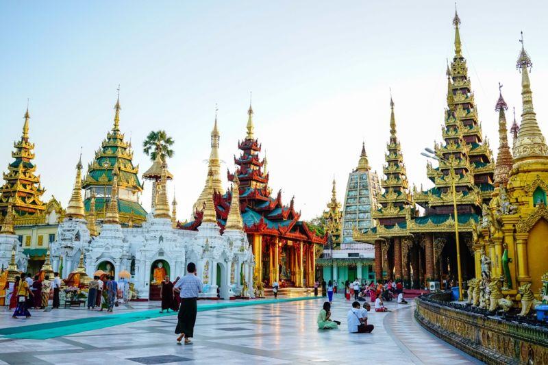 Foto de Ruta por El rincón oculto de Asia Paseando por la Pagoda de Shwedagon