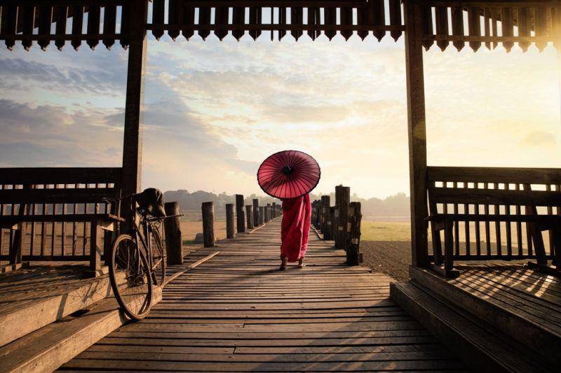 Foto de Ruta por El rincón oculto de Asia Pasenado por el puente de teca de U Ben
