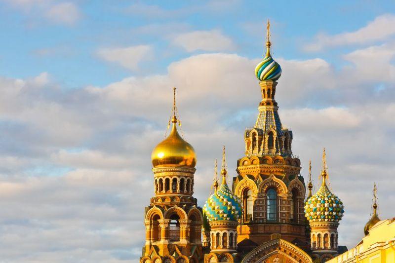 Foto de Ruta por El Transiberiano, desde San Petersburgo hasta Pekín Church in St Petersburg