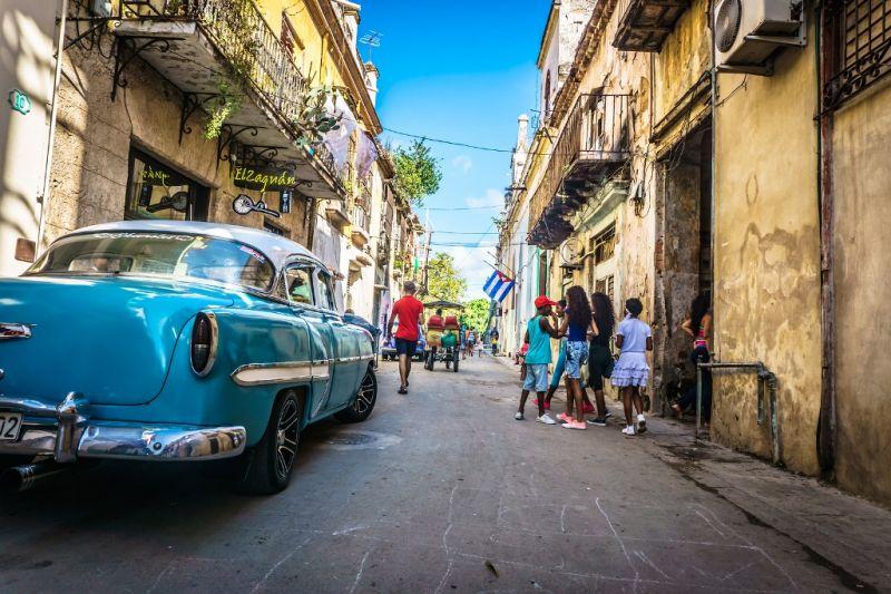 Foto de Ruta por En coche por el Caribe Calle de La Habana Vieja