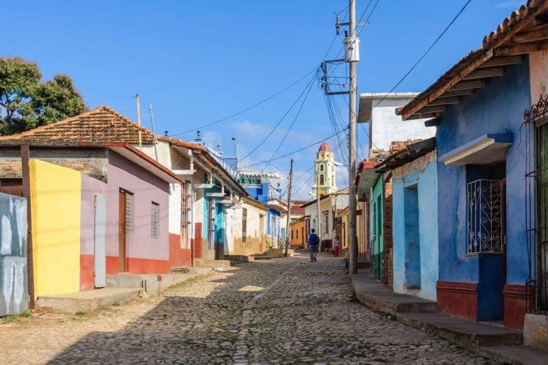 Foto de Ruta por En coche por el Caribe Calles de Trinidad