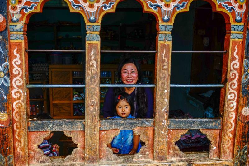 Foto de Ruta por En el corazón de los Himalayas mujer tibetana