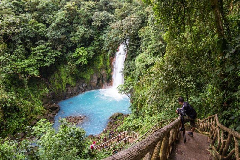 Foto de Ruta por Estallido Natural Cascada de Río Celeste