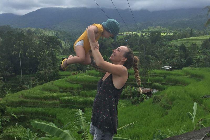 Foto de Ruta por Indonesia en familia Campos de arroz