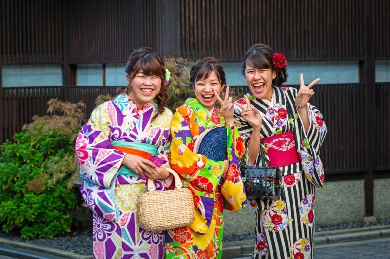 Foto de Ruta por Japón a tus pies japonesas con kimono