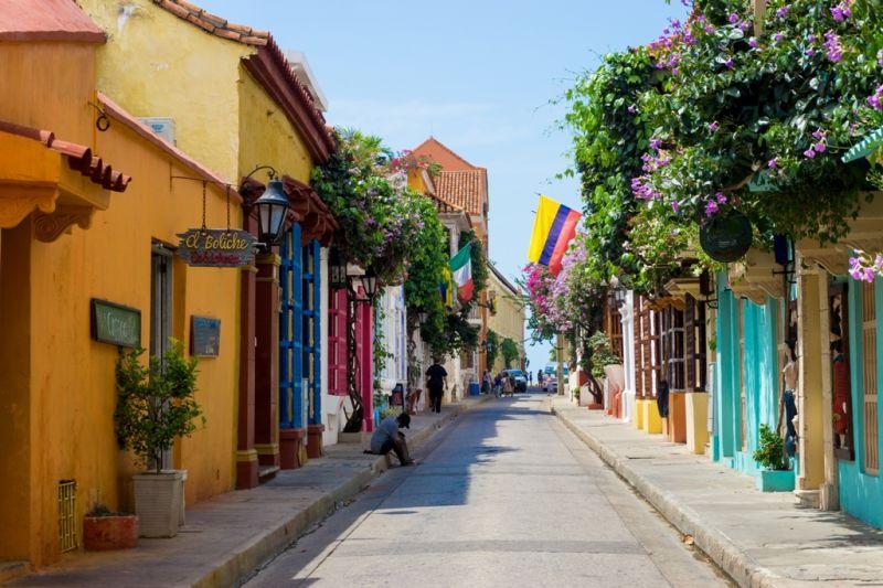 Foto de Ruta por La atracción de Sudamérica Calles de Cartagena de Indias