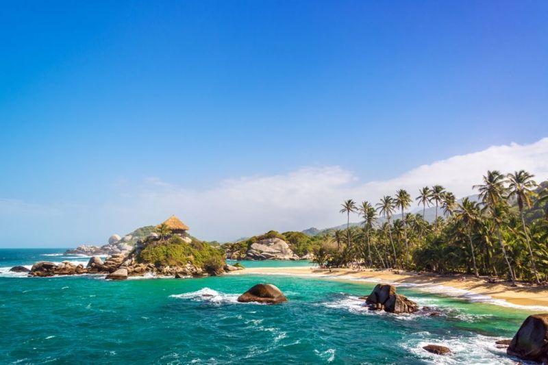 Foto de Ruta por La atracción de Sudamérica Playa de Tairona