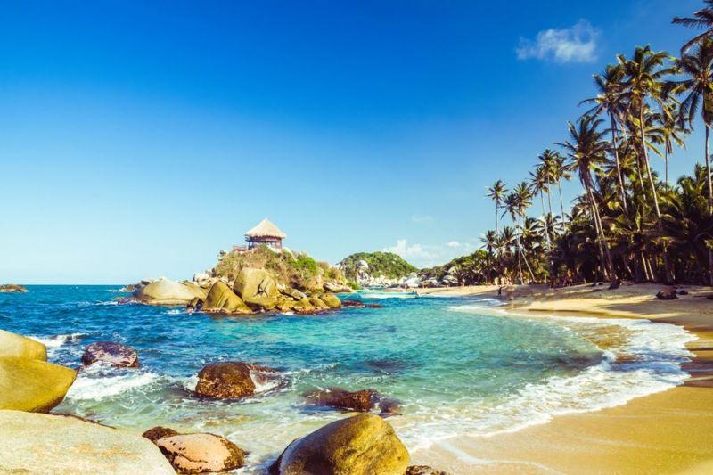 Foto de Ruta por La atracción de Sudamérica Playa del Parque de Tayrona