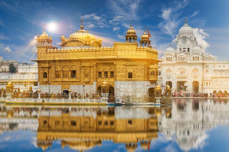 Foto de Ruta por La cuna del Yoga templo dorado