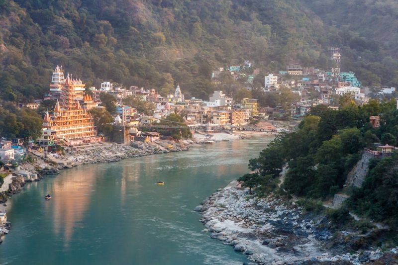 Foto de Ruta por La cuna del Yoga vistas rio Ganga
