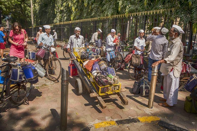 Foto de Ruta por La India menos conocida transportando mercancia