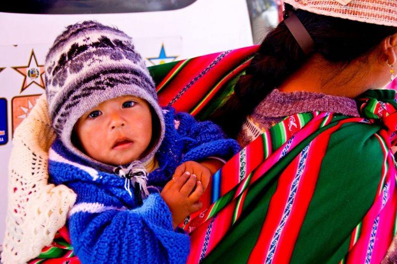 Foto de Ruta por La perla andina Bebé y su madre
