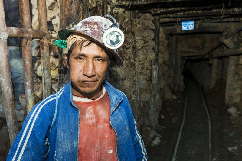Foto de Ruta por La perla andina Minero de Potosí