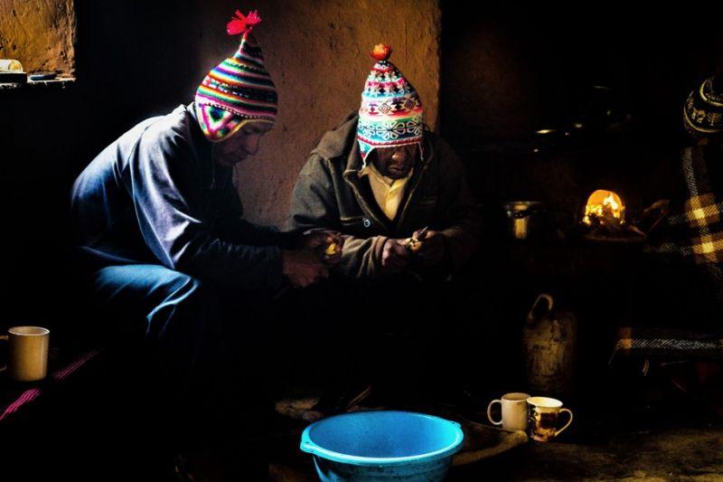 Foto de Ruta por La perla andina Preparando la cena