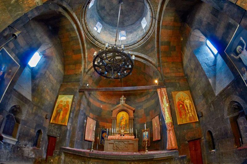 Foto de Ruta por La ruta de los monasterios Interior del monasterio de Khor Virap