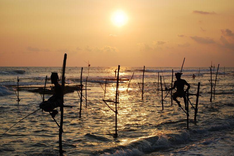 Foto de Ruta por Las joyas del Indico practicando la pesca