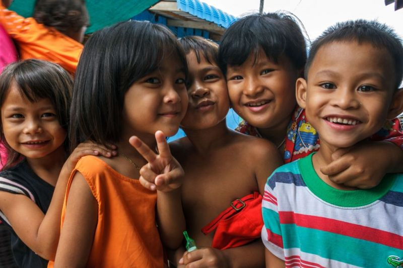 Foto de Ruta por Los dioses de Angkor Niños de Camboya