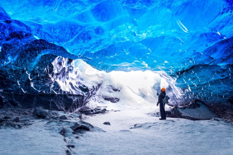 Foto de Ruta por Naturaleza Artica cueva helada