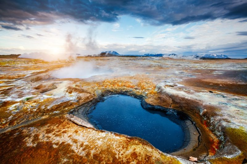 Foto de Ruta por Naturaleza Artica zona geotermal