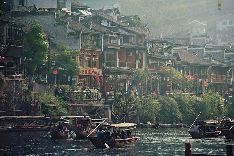 Foto de Ruta por Paisajes desde Shanghai a Hong Kong El río por Fenghuang